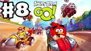 Angry Birds Go! Gameplay Walkthrough Part 8 - Using a Telepod! Rocky Road (iOS, Android)