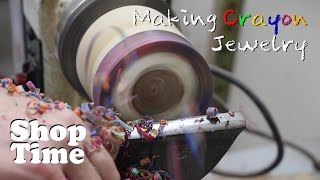 getlinkyoutube.com-Making Crayon Jewelry
