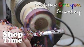 Making Crayon Jewelry