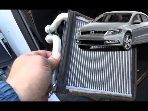 Как снять, легко заменить радиатор печки на volkswagen passat b6 – cc. Поменять радиатор отопителя