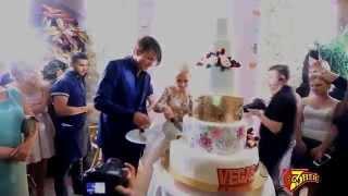 getlinkyoutube.com-Лучшие моменты свадьбы Татьяны Волосожар и Максима Транькова
