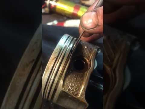 Замена поршневых колец Peugeot 407 EW10A