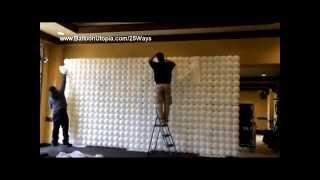 getlinkyoutube.com-How to Make a Balloon Wall