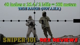 getlinkyoutube.com-SNIPER 101 Part 84 - How to use Mil-Dots for Ranging Targets