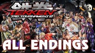 getlinkyoutube.com-Tekken Tag Tournament 2 - 'All Character Endings' TRUE-HD QUALITY