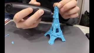 getlinkyoutube.com-3Doodler Timelapse l Eiffel Tower #whatwillyoucreate