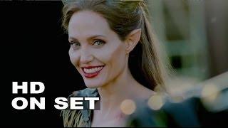 getlinkyoutube.com-Maleficent: Behind the Scenes Complete Broll - Angelina Jolie, Elle Fanning