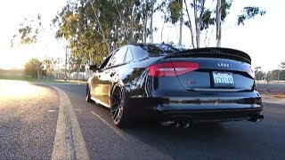 getlinkyoutube.com-Insane Vader Audi S4 (B8.5) 3.0 V6T w/ Armytrix Cat-Back Variable Exhaust