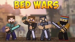 getlinkyoutube.com-Minecraft Bed Wars #33 - Нашу кровать сломали!