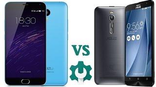 getlinkyoutube.com-Meizu M2 Note vs Asus Zenfone 2 Video Confronto