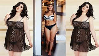 getlinkyoutube.com-MODA 2015 LINGERIE PLUS SIZE