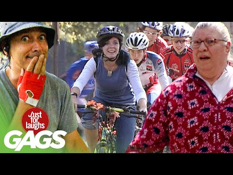 Best of Bike Pranks | Just For Laughs Compilation