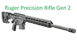 Ruger Precision Rifle Gen 2 Unboxing