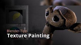 getlinkyoutube.com-Blender-Tutorial - Texture Painting (Tutorial DE)