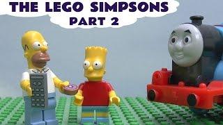 Lego The Simpsons Play Doh Blind Bag Thomas & Friends Egg Surprise Minifigures Homer Playdoh Pt 2