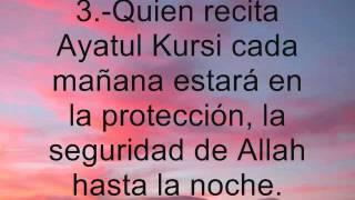 Ayat al Kursi y sus beneficios