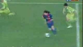 getlinkyoutube.com-Lionel Messi goles a Getafe