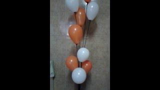 getlinkyoutube.com-Aprendendo a Fazer Arte #6 Usando vareta pega balão