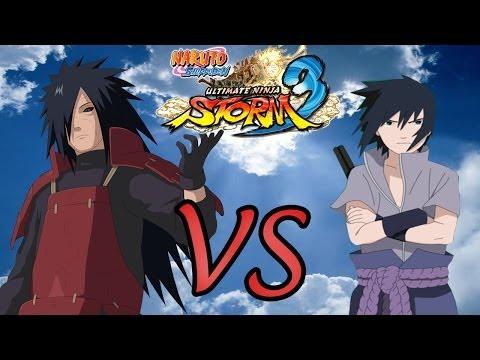 Naruto Shippuuden Ultimate Ninja Storm 3 | Madara Edo VS Sasuke Susanoo