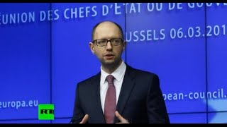 getlinkyoutube.com-Яценюк о США России Путине  НАТО и ЕС   Яценюк запутался
