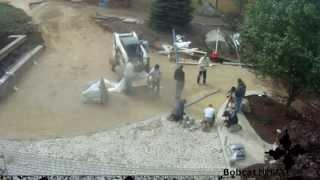 getlinkyoutube.com-Time Lapse: Brick Paver Driveway Installation