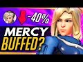 Overwatch | MERCY ACCIDENTALLY BUFFED? Potential PTR Bug + How Viable is Mercy  Ana?