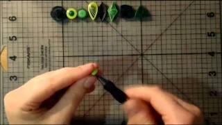 getlinkyoutube.com-Мастер-класс - Основы квиллинга (Урок 1)