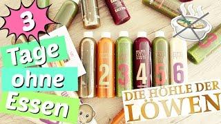 getlinkyoutube.com-DIE HÖHLE DER LÖWEN - SAFTKUR 🍹 | Videotagebuch - 3 Tage ohne Essen 😳! | Diie Jule