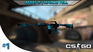 getlinkyoutube.com-CS:GO - M4A1-S | Icarus Fell Gameplay