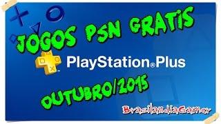 getlinkyoutube.com-Jogos PSN Gratis  para assinantes - Outubro 2015  - Brasilandia Gamer