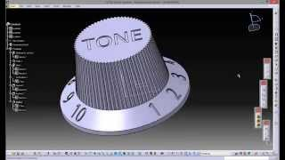 getlinkyoutube.com-CATIA V5 - HOW TO CREATE 3D TEXT IN MODEL