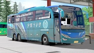 Euro Truck Simulator 2 | Menguji Skill Driver Bus Lintas Sumatra PMTOH Di Jalur Tangkubanperahu