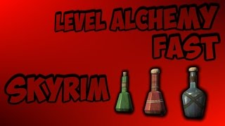 getlinkyoutube.com-How to Get 100 Alchemy in Skyrim | Fast and Profitable