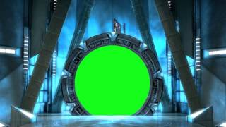 getlinkyoutube.com-Stargate Atlantis Boarding Room - green screen effect