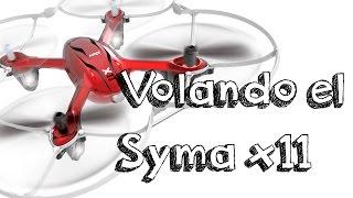 getlinkyoutube.com-VUELO DRONE SYMA X11 EN ESPAÑOL: El mejor minidrone barato con calidad segun muchos