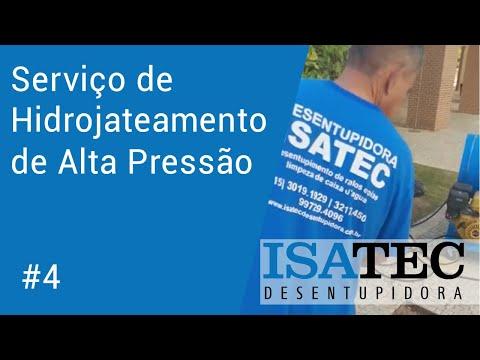 thumb Hidrojateamento de Alta Pressão Sorocaba - Isatec Desentupidora #4