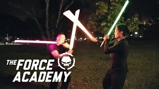 getlinkyoutube.com-The Force Academy: The most realistic lightsaber dueling experience in Singapore