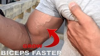 One Tips To Grow Your Biceps Faster