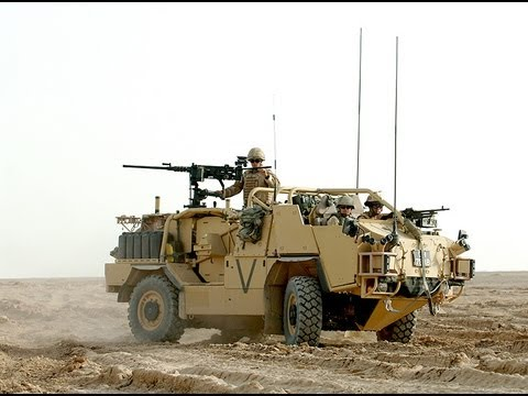 British Army Road Warriors Afghanistan