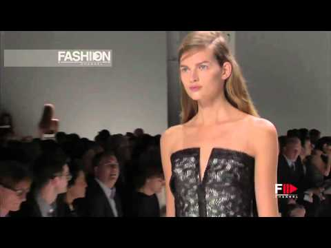 "The amazing ""Calvin Klein"" Spring Summer 2013 pret a porter woman New York  by Fashionchannel"