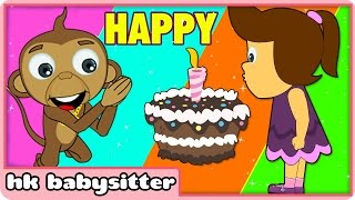 getlinkyoutube.com-Happy Birthday Song And Many More | Nursery Rhymes Collection |  Kids Songs by HooplaKidz BabySitter