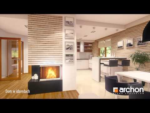 Dom w  idaredach- Wirtualny spacer po wnętrzu. ARCHON+