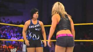 getlinkyoutube.com-NXT | Kaitlyn vs Vickie Guerrero (w/ Dolph Ziggler)