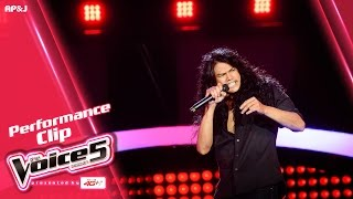 getlinkyoutube.com-The Voice Thailand - ไนท์ วิทวัส  - Highway to Hell - 18 Sep 2016