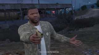 getlinkyoutube.com-GTA V: Franklin Kills Trevor (Optional)