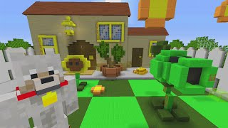 getlinkyoutube.com-Minecraft Xbox Hide and Seek - Plants vs Zombies