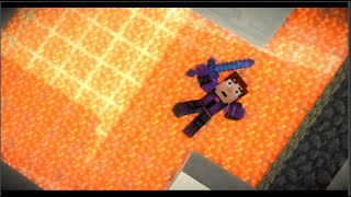 getlinkyoutube.com-Minecraft Story Mode Episode 8 All Deaths And Kills (Fight Scenes/Respawns) Episode 8 HD