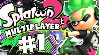 Splatoon 2 Gameplay - Mutliplayer Turf War #1