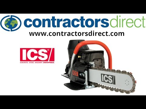ICS Diamond Concrete Chain Saw
