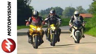 getlinkyoutube.com-Honda CBF 1000 vs. Honda CB 1000 R vs. Honda Fireblade
